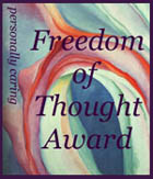 Freedom of Thought Recognition Award